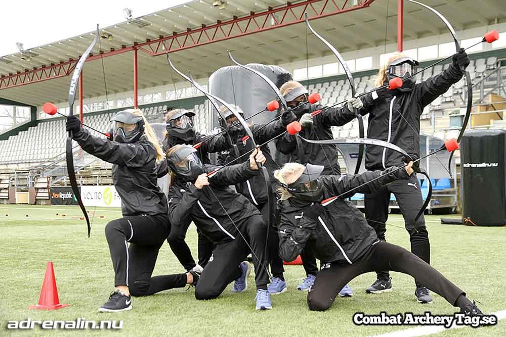 Combar Archery Tag - Barnkalas Göteborg